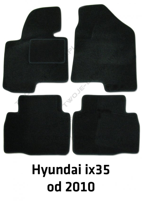 Dywaniki welurowe Hyundai ix35