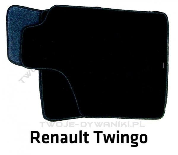 Dywaniki welurowe Renault Twingo