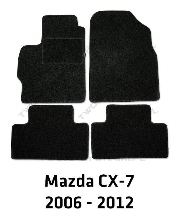 Dywaniki welurowe Mazda CX-7