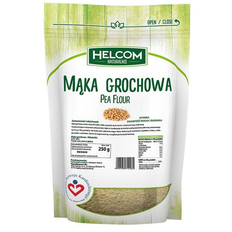 Mąka grochowa Helcom, 250g