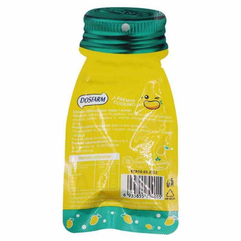 Drażetki odświeżające mięta + mango Dosfarm, 16g