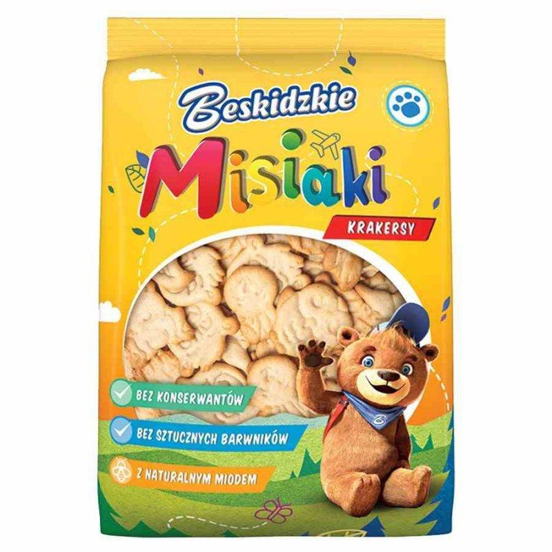 Krakersy Misiaki Beskidzkie, 90g