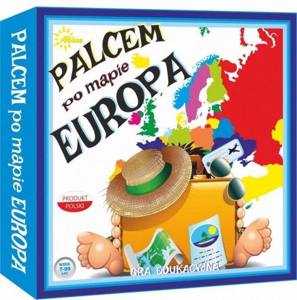 Gra Palcem po mapie - Europa
