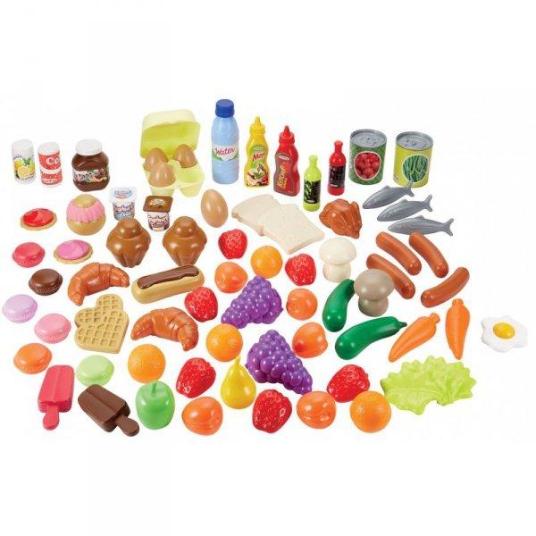 Ecoiffier Zestaw Produktów Spożywczych 75 elementów