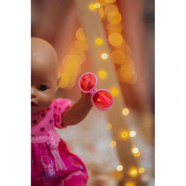 WOOPIE Ubranko dla Lalki Różowa Sukienka Króliczek 43-46 cm