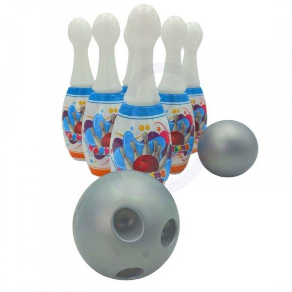 WOOPIE Kręgle dla Dzieci  6 szt. + 2 Piłki