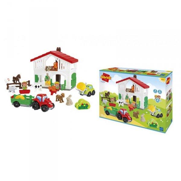 Ecoiffier Abrick Farma Zestaw z Akcesoriami