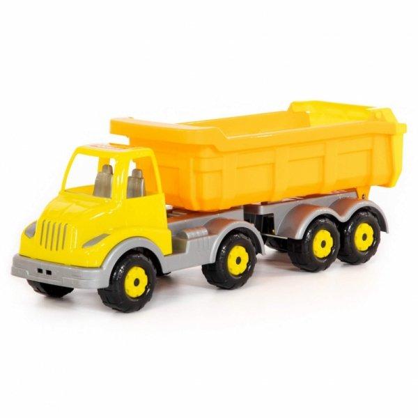 Wader QT Ciężarówka Wywrotka Z Naczepą