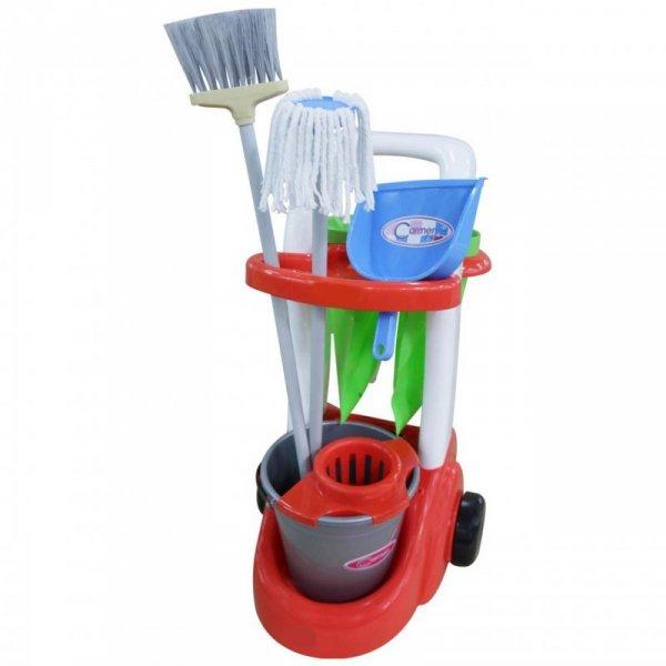 Wózek Do Sprzątania Asystentka z Akcesoriami