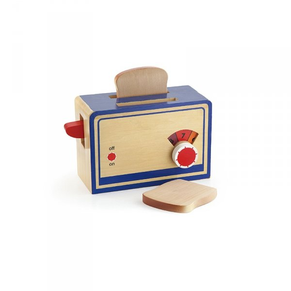 Drewniany Toster Kuchenny Dla Dzieci AGD Grzanki Tosty Viga Toys