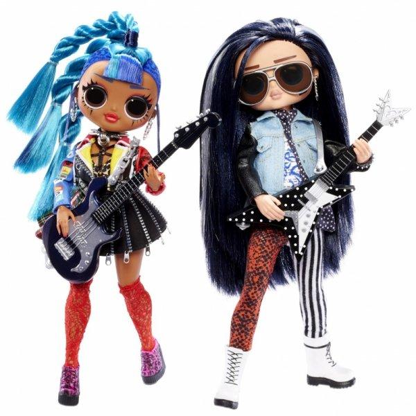 L.O.L. SURPRISE - Lalka O.M.G. REMIX Rocker Boi i Punk Grrrl 2-PAK OMG LOL