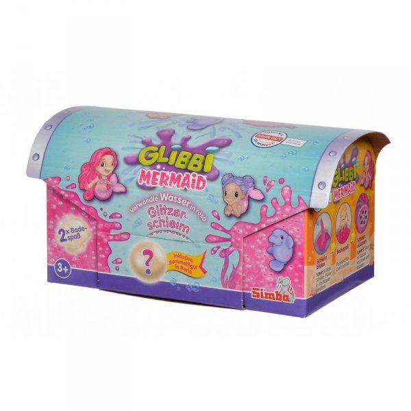 SIMBA Glibbi Slime Mermaid Glitter z Figurką