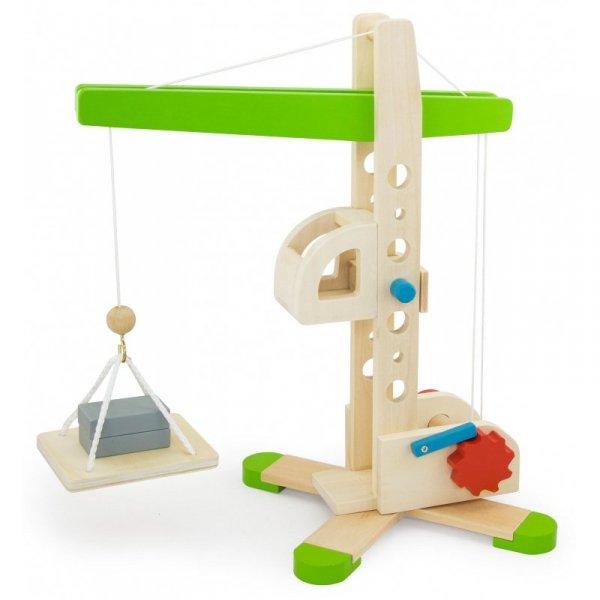 Drewniany Dźwig budownlany Viga Toys