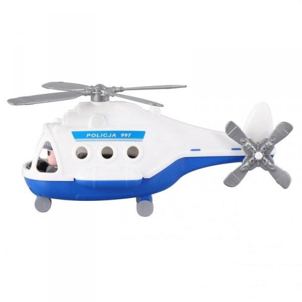 Helikopter Śmigłowiec Policyjny Alfa+ Figurka