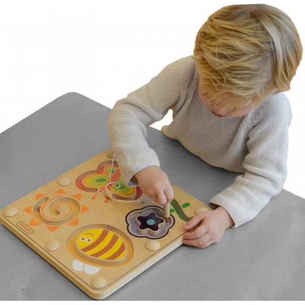 Magnetyczny Labirynt Świat Owadów - Tabliczka Masterkidz