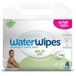 WaterWipes, BIO, Chusteczki nawilżane wodne Soapberry KIDS , 60szt.x4, PL (CZTEROPAK)