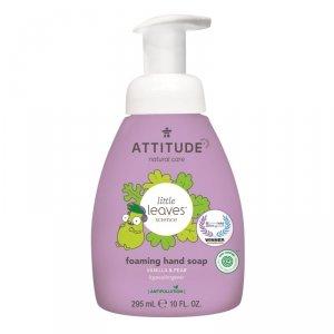 Attitude, Little Ones, Mydło w piance do rąk dla dzieci, Gruszkowy Nektar i Wanilia, 295 ml