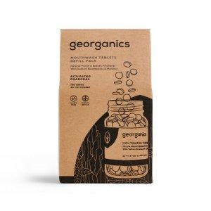 Georganics, Naturalne tabletki do płukania jamy ustnej, Activated Charcoal, 720 tabletek