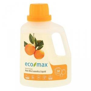 Eco-Max, Płyn do prania, pomarańcza, 50 prań, 1,5L