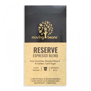 Moving Beans, Kawa w kapsułkach kompostowalnych Reserve Espresso Blend, 10 szt.