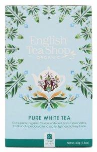 English Tea Shop, Herbata Pure White Tea, 20 saszetek