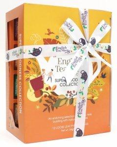 English Tea Shop, Herbata BIO SUPER, 12 piramidek