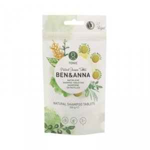BEN and ANNA, Naturalny szampon w tabletkach, tonic, 120 g