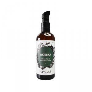 LullaLove, Olejowo-ziołowa wcierka do włosów, 100 ml