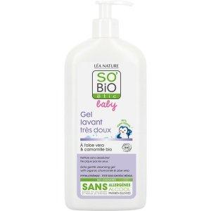 SO BIO Baby, Hipoalergiczny organiczny płyn do mycia ciała i włosów dla niemowląt i dzieci, 500ml