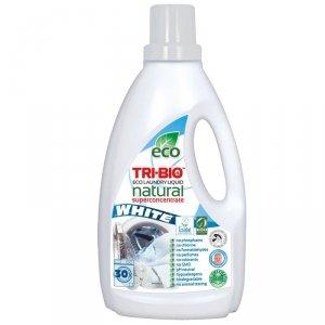 TRI-BIO, Ekologiczny Skoncentrowany Płyn do Prania WHITE, 1,42 l