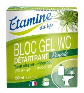 Etamine du Lys, Zawieszka do WC z Żelem Oczyszczającym Sosna i Eukaliptus, 50 ml
