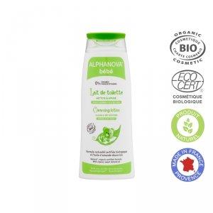 Alphanova Bebe, Organiczne mleczko z oliwą do mycia niemowląt, 200 ml