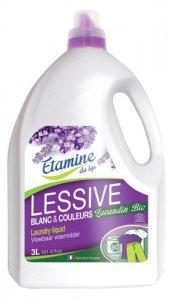 Etamine du Lys, Płyn do prania tkanin kolorowych i białych Organiczna Lawenda i Pomarańcza, 3000 ml