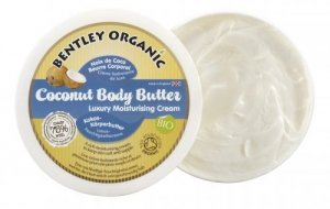 Bentley Organic, ORGANICZNE masło kokosowe do ciała, 200g