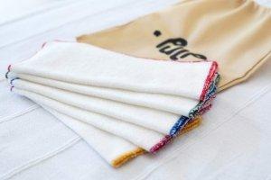 Pulp, Bambusowe chusteczki myjki wielorazowe 20 × 20 cm, 5 szt