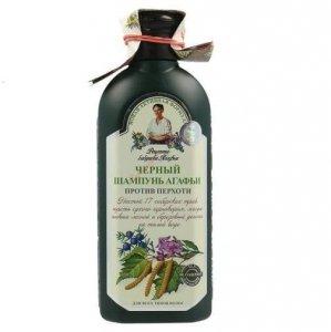 Czarny ziołowy szampon przeciwłupieżowy 350ml