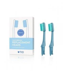 Głowice do szczoteczki do zębów LODOWIEC włosie średnie biodegradowalne 100% składników roślinnych