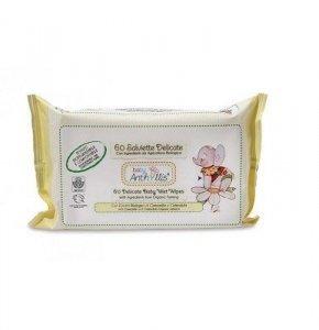 Biodegradowalne kompostowalne chusteczki nawilżające do pielęgnacji skóry dziecka 60szt