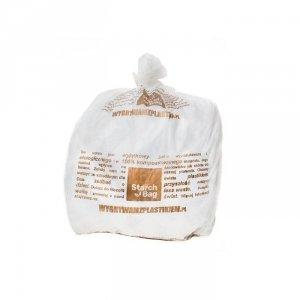 Biodegradowalne worki na śmieci w 100% biodegradowalne 15 sztuk 35 L