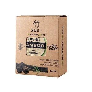 Węgiel bambusowy - Osuszacz powietrza Pochłaniacz wilgoci i zapachów 2 x 200g