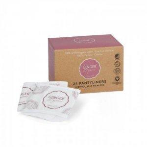 Wkładki higieniczne certyfikowane 100% organic bawełna organiczna bez chloru 24 szt
