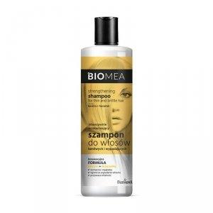 Farmona - Biomea intensywnie wzmacniający szampon do włosów łamliwych i wypadających 400ml