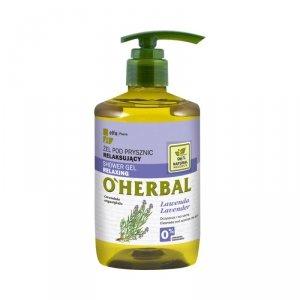 O'herbal - Shower Gel Relaxing relaksujący żel pod prysznic z ekstraktem z lawendy 750ml