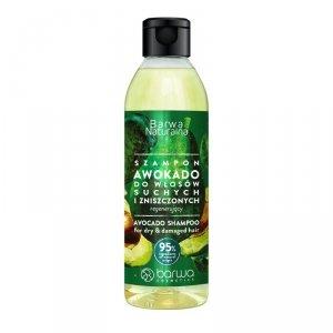 Barwa - Naturalna regenerujący szampon do włosów Awokado 300ml
