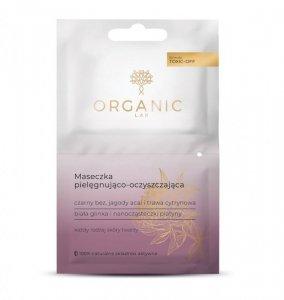 Organic lab - Maseczka pielęgnująco-oczyszczająca do każdego rodzaju cery Czarny Bez Jagody Acai i Trawa Cytrynowa 2x6ml