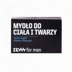 Zew for men - Mydło do ciała i twarzy z węglem drzewnym z Bieszczad 85ml