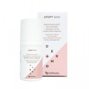 Vis Plantis - Atopy Skin krem emolient na powieki i wokół oczu do skóry suchej i atopowej 30ml