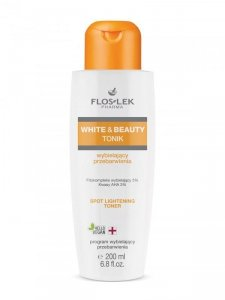 Floslek - White & Beauty tonik wybielający przebarwienia 200ml