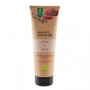 Aura naturals - Chia & Goji żel do mycia ciała 250ml