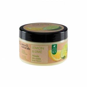 Aura naturals - Lemon & Lime masło do ciała 250ml